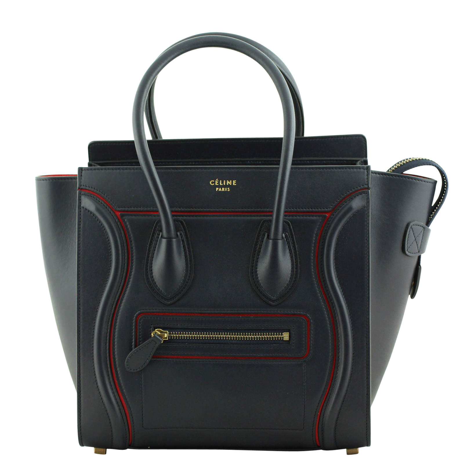 Celine Luggage Tote Micro Front